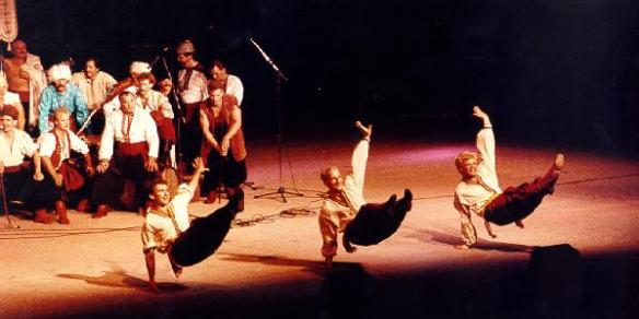 Cossak Dancing