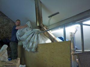 Adding in the malt