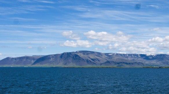 Arriving in Reykjavik