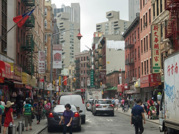 Mott Street New York China Town