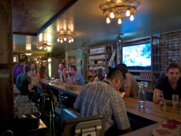 Cannibal Bar. New York