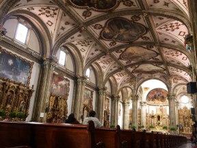 Inside the Parish of San Juan Bautista