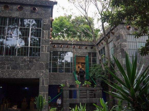 Frida Kahlo's house. An inspiring museum.