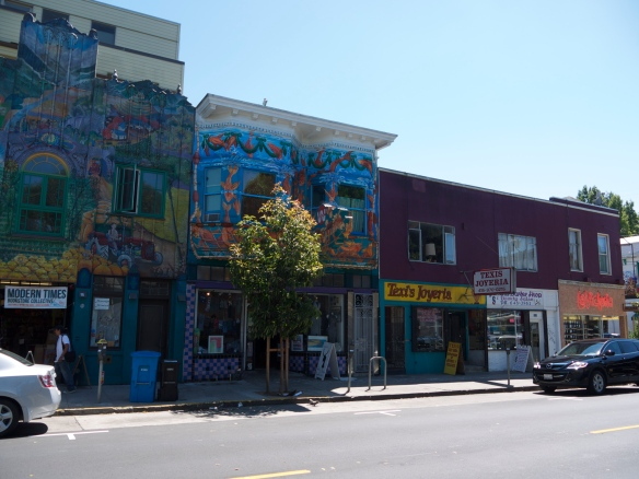 The vibrant and colourful Mission District.