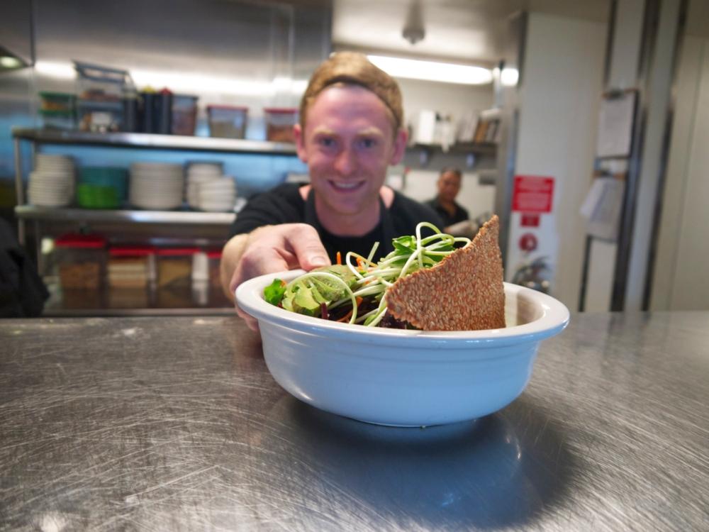 Cafe Gratitude Chef de Partie