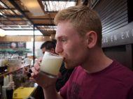 Foodish Boy Drinks A Pisco Sour