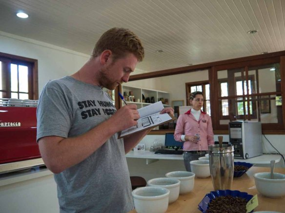 Foodish Coffee Tasting