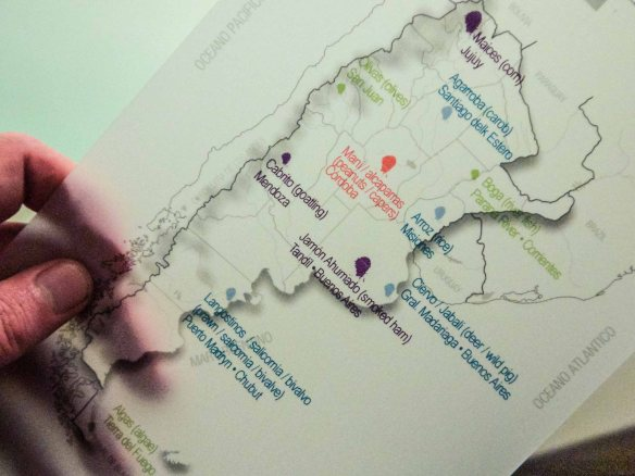 Chila Produce Map